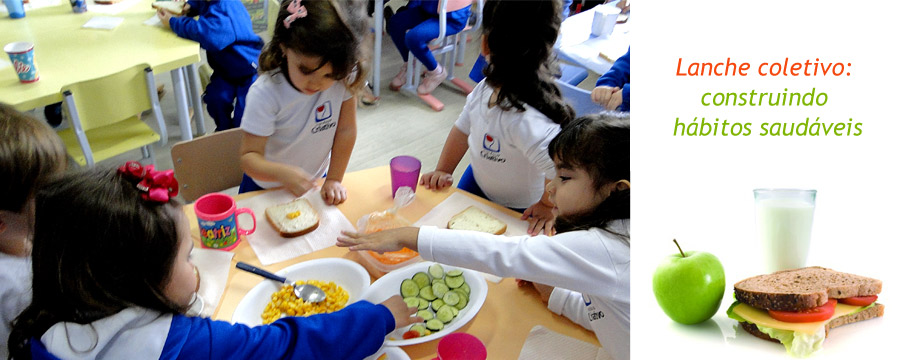 Lanche Coletivo: construindo hábitos saudáveis