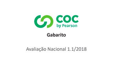 Sistema COC (4º ao 9º ano) – Primeiro Simulado/2018 – Gabarito para conferência
