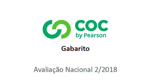 Sistema COC (4º ao 9º ano) – Segundo Simulado/2018 – Gabarito para conferência