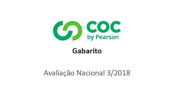 Sistema COC (4º ao 9º ano) – Terceiro Simulado/2018 – Gabarito para conferência