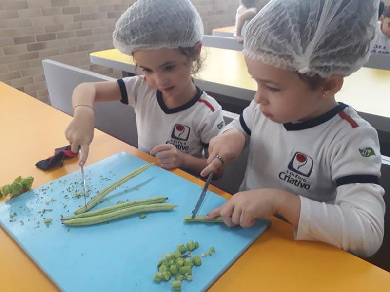 CI Vesp. – Projeto Vendo Você Crescer: alimentação  saudável