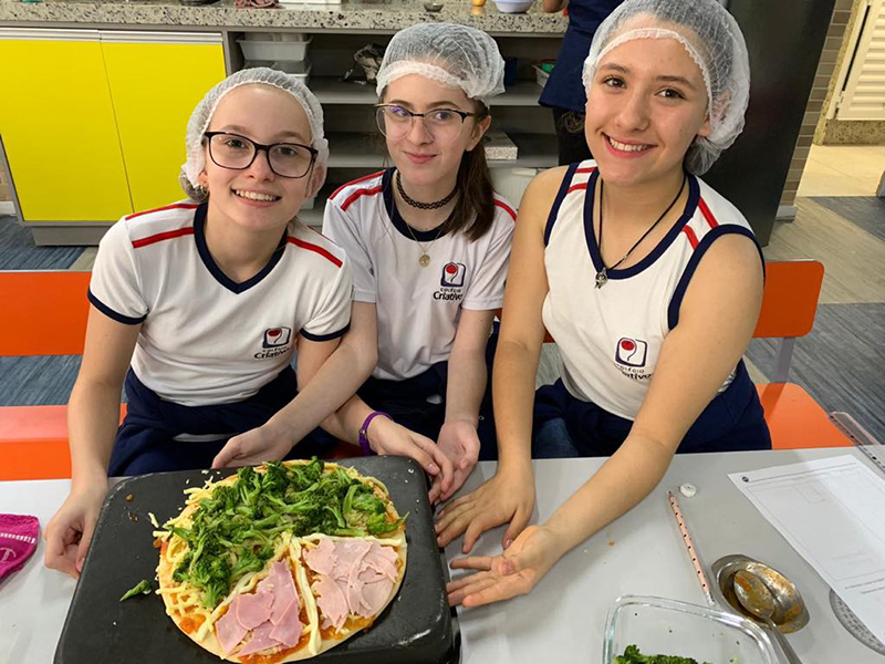 Turmas 602 e 604 – Gráfico de setores na pizza