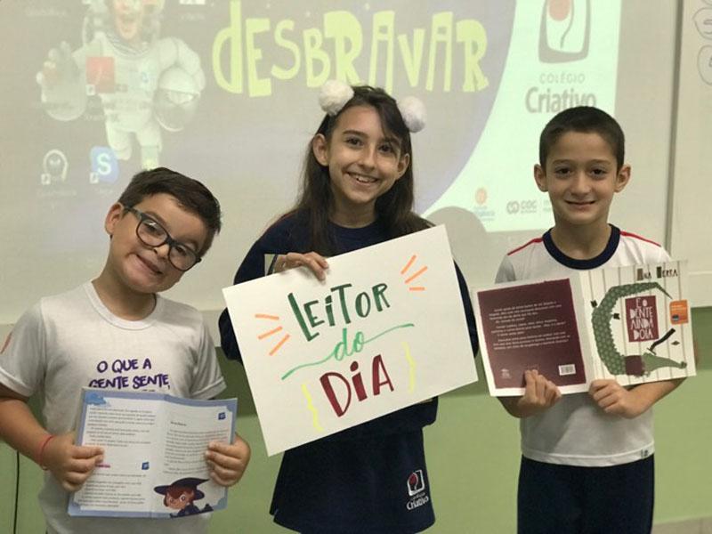 Turma 201- Projeto: Leitor do dia!