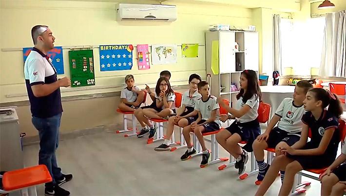 Projeto Criativo Bilingual School
