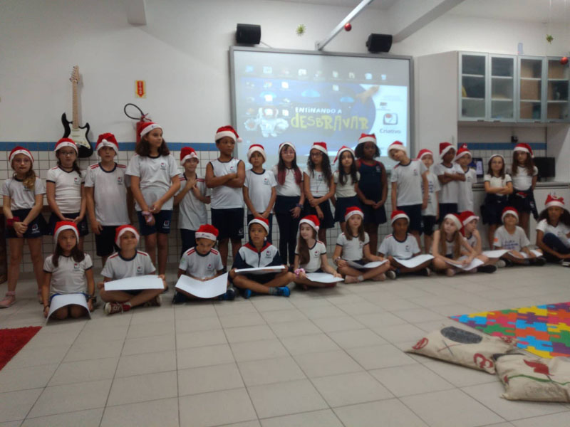 Turma 302 – Encerramento de Natal