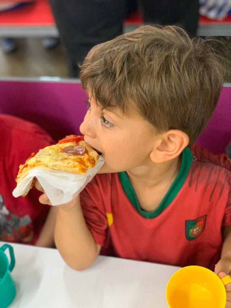 Colônia de Férias: Dia da pizza